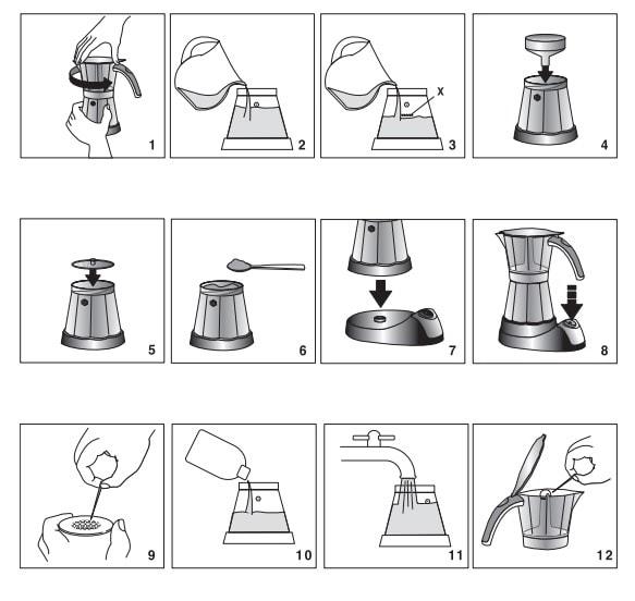 DeLonghi EMK 9 Alicia: como se prepara el café