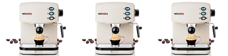 Mini Moka CM-1695 - Cafetera espresso manual - Opinión y análisis
