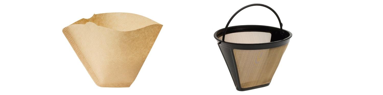 Filtros de papel desechables vs Filtros permanentes (reutilizables) ¿Cuál es mejor para nuestra cafetera?