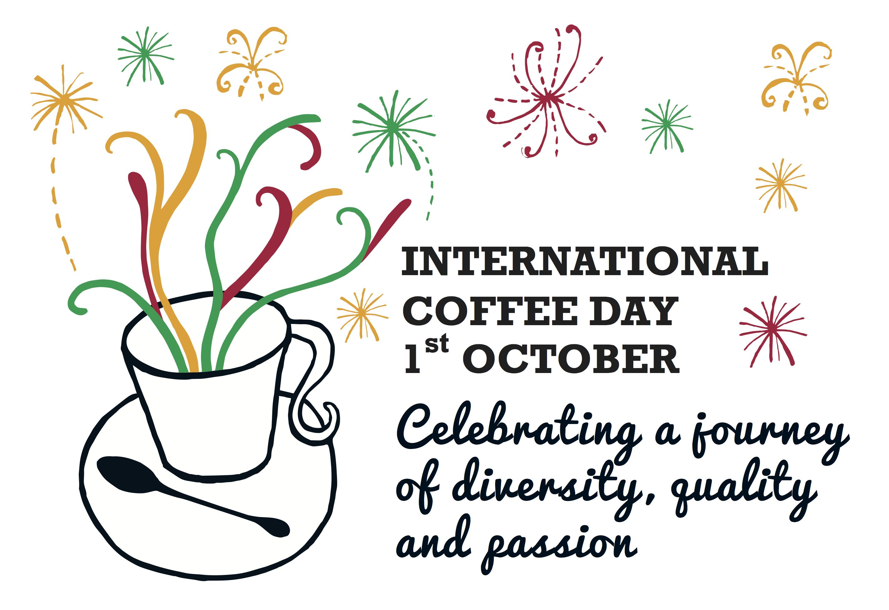 1 de Octubre de 2015: Primer día Internacional del café