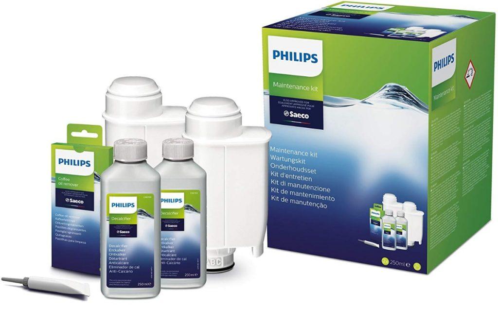 Philips CA6706/10 - Kit de limpieza y mantenimiento de cafeteras Saeco
