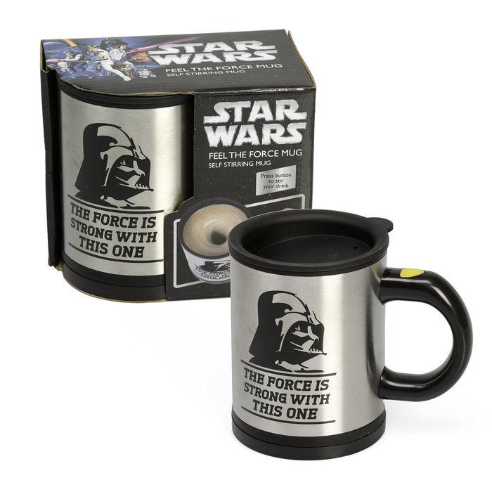 Bluw 13069 - Taza removible, diseño Star Wars Feel The Force
