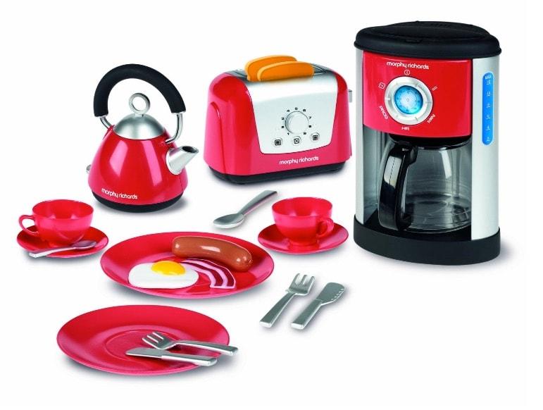 Casdon Morphy Richards - Juego de utensilios de cocina de juguete