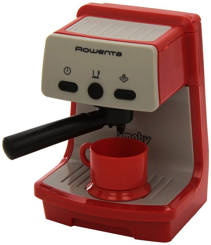 Smoby 24802 Rowenta Espresso - Cafetera de juguete con accesorios