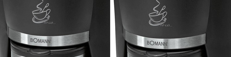 Bomann KA 180 - Cafetera de goteo para uso individual - Opinión