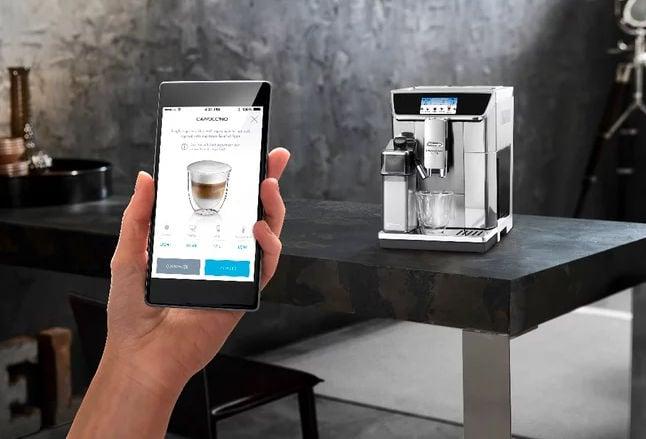De'Longhi PrimaDonna Elite - La cafetera inteligente que vas a controlar con una App en tu smartphone