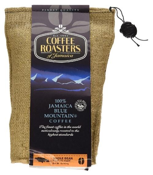 Jamaica Blue Mountain Coffee de 454 gramos de Coffee Roasters Of Jamaica por unos 56 euros.