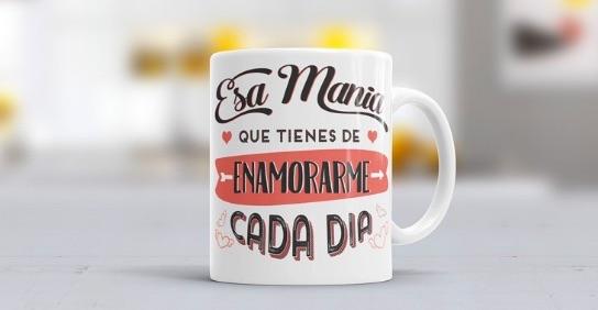 Un juego de tazas de café perfecto para regalar el Día de San Valentín: taza personalizable con el nombre