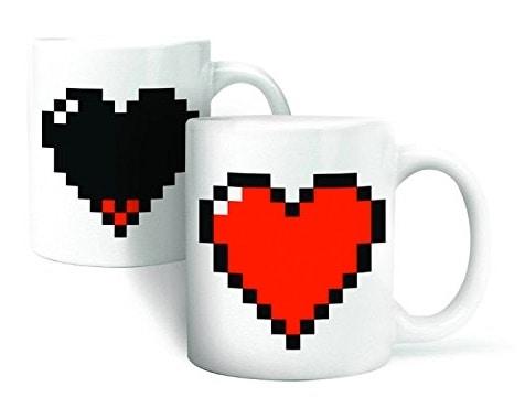 Un juego de tazas de café perfecto para regalar el Día de San Valentín: taza Cozyswan Alat