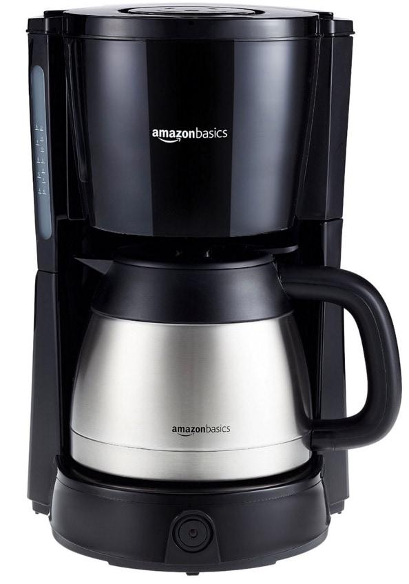 Cafetera de filtro AmazonBasics - Opinión