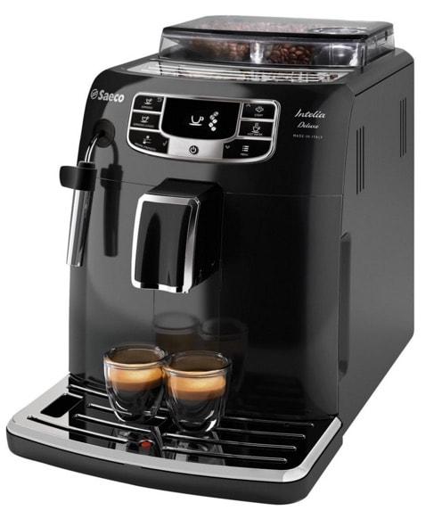 Saeco Intelia Deluxe - Cafetera espresso super automática
