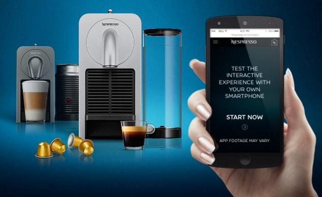 Nespresso Prodigio: la primera máquina de café Nespresso controlada mediante un smarpthone