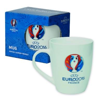 UEFA EURO 2016 - Taza de cafe - Logo Euro 2016 - 320 ml