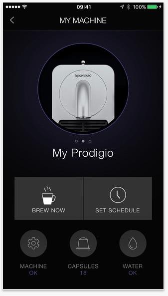 Nespresso App