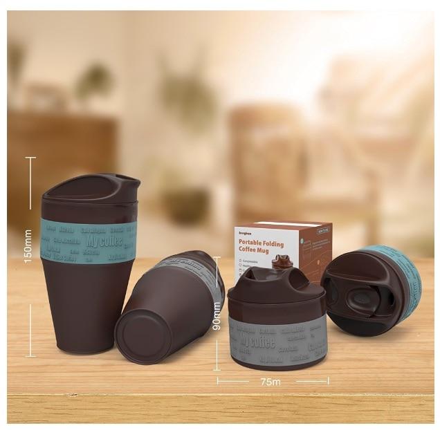 Jerrybox Taza Plegable para Café