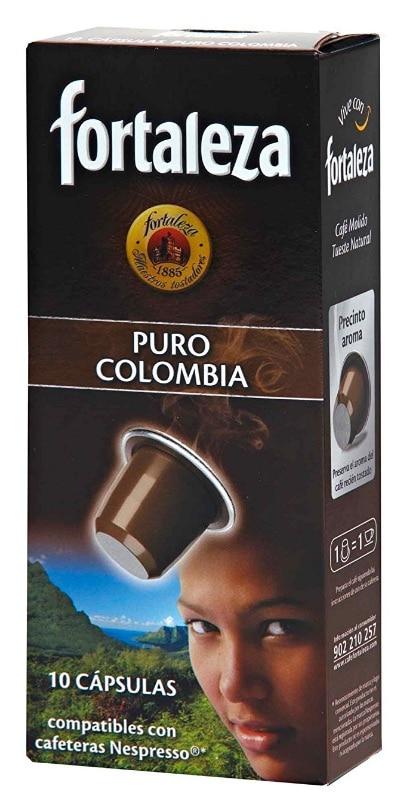 Segunda opción como mejores cápsulas compatibles con Nespresso en 2017: Café Fortaleza