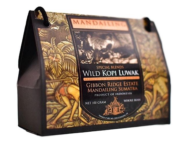 Kopi Luwak (Natural) - El café más raro del mundo - (Granos de café)