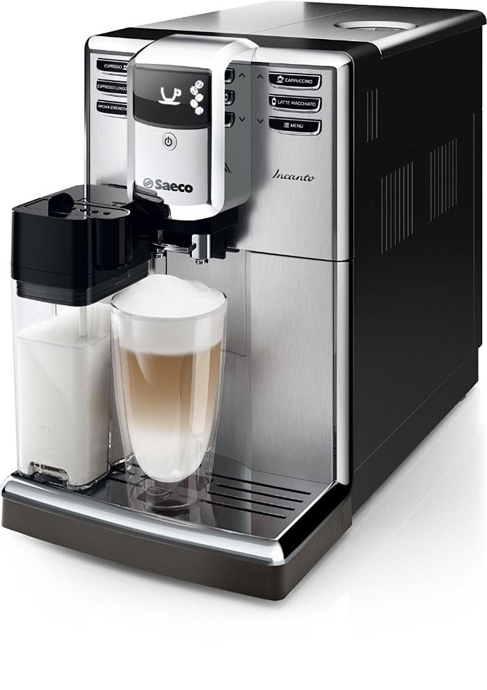 Las mejores cafeteras espresso automáticas de 2017 y 2018: Saeco HD8917/01