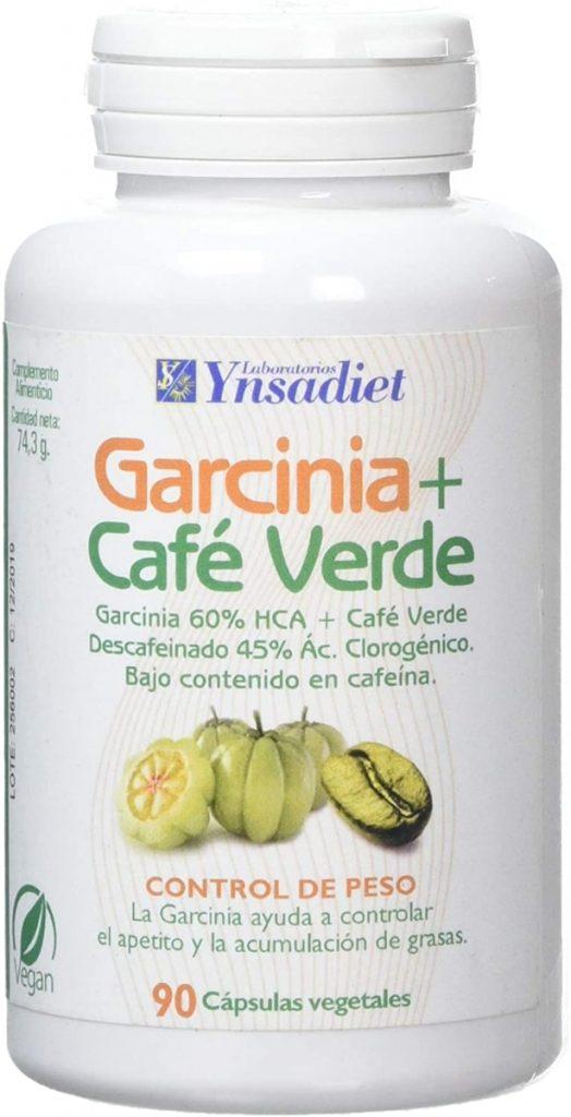 Garcinia Cambogia Con Extracto de Café Verde Sin Cafeina de Ynsadiet