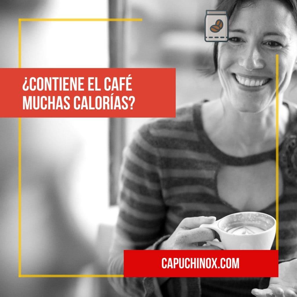 ¿Contiene el café muchas calorías?