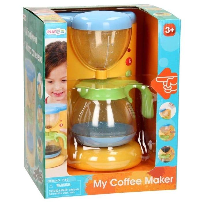 PlayGo Cafetera Gourmet eléctrica con Accesorios
