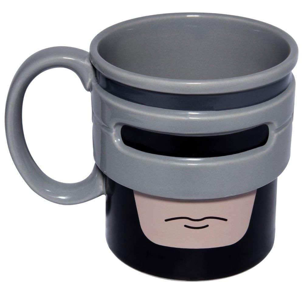 tazas de café originales y curiosas: RoboCup ROBCUP - Taza de cerámica