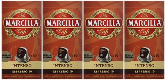 Marcilla Cápsulas Intenso compatibles Nespresso