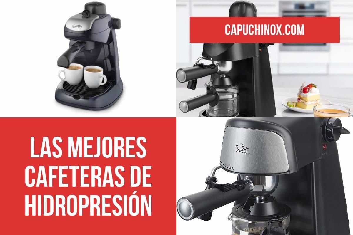 Las mejores cafeteras de hidropresión
