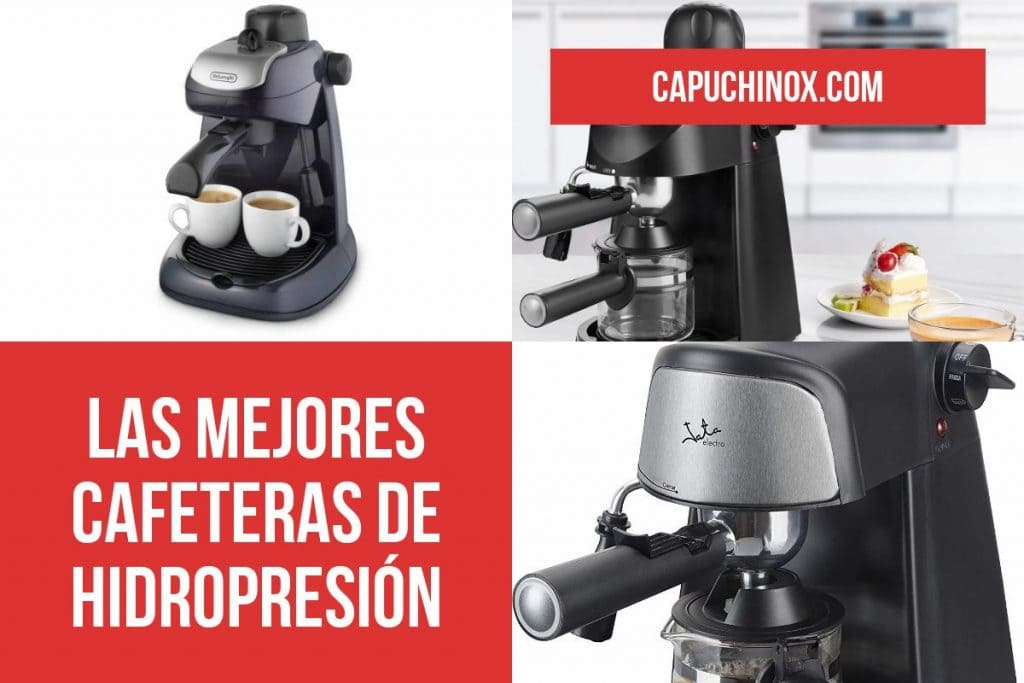 Las mejores cafeteras de hidropresión: cafetera a vapor