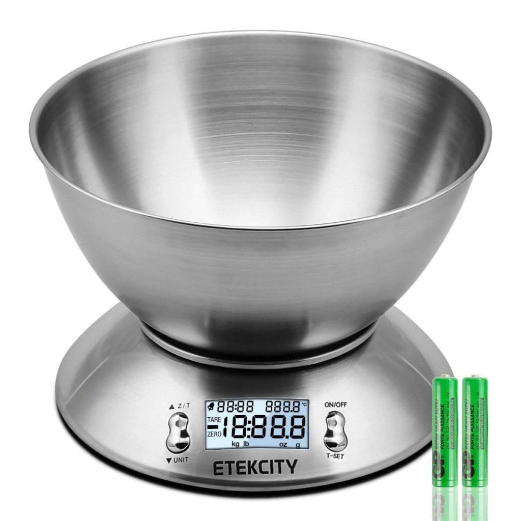 Báscula digital para cocina Etekcity EK4150