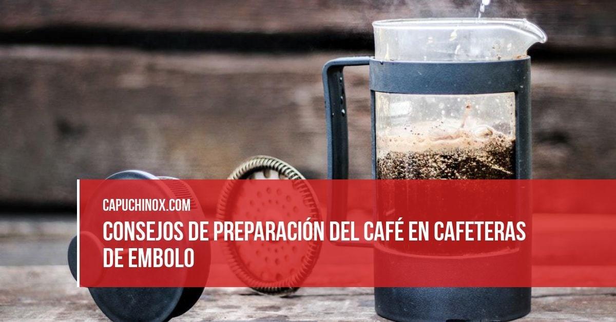 Los mejores consejos para obtener buen café en una cafetera francesa