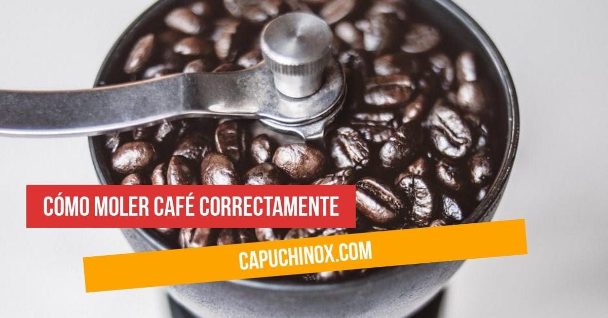 Cómo moler café correctamente: 5 consejos imprescindibles
