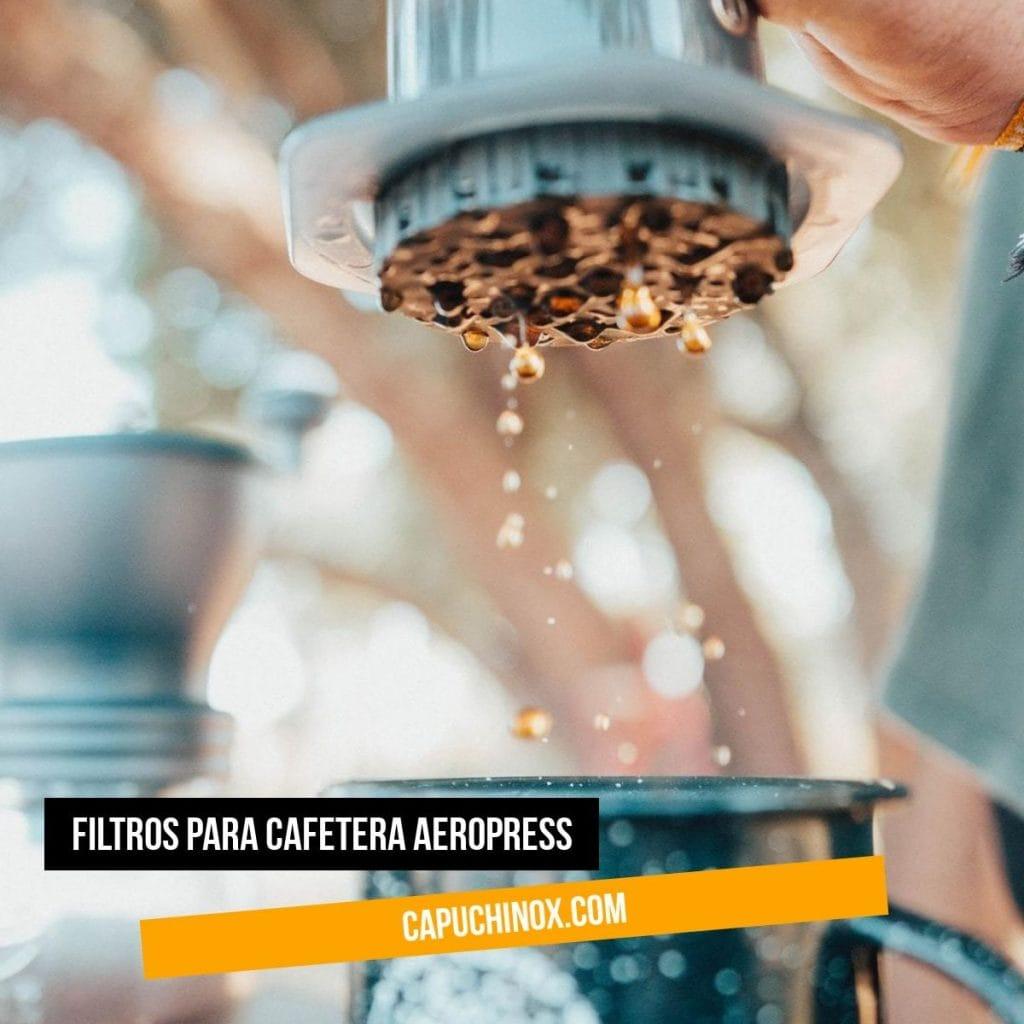 Filtros para cafetera Aeropress: Filtro de papel estándar vs Filtro de metal