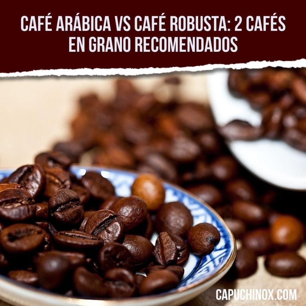 Café Arábica vs café Robusta: 2 cafés en grano recomendados