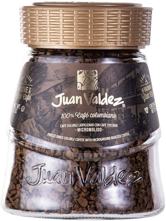 Juan Valdez, Café Soluble Liofilizado, 95 gramos