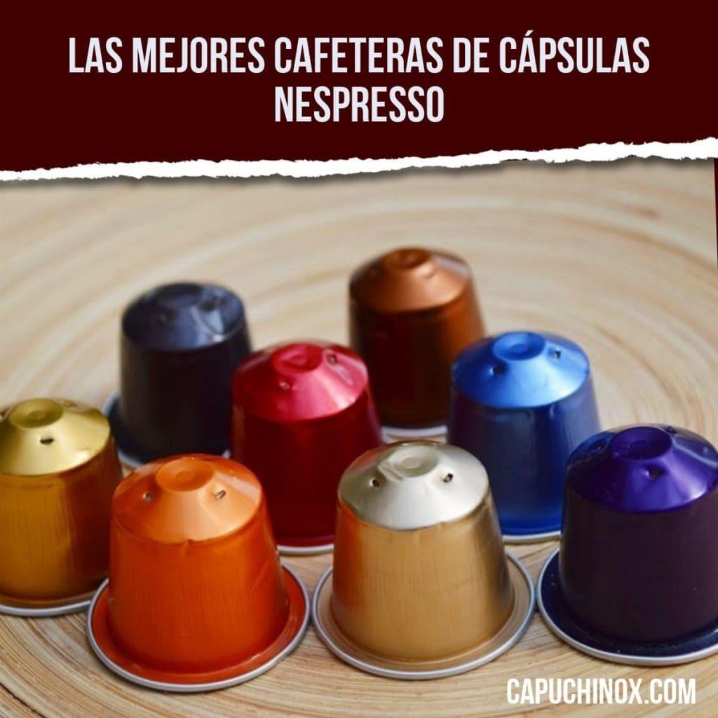 Las mejores cafeteras de cápsulas Nespresso