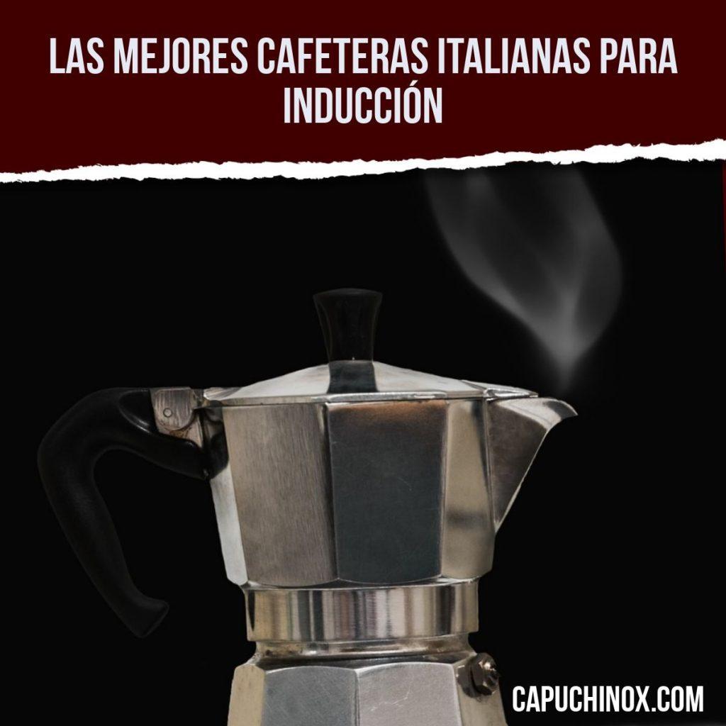 Las mejores cafeteras italianas para inducción