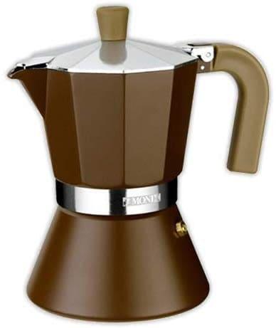 Cafetera italiana MONIX Cream 9 tazas