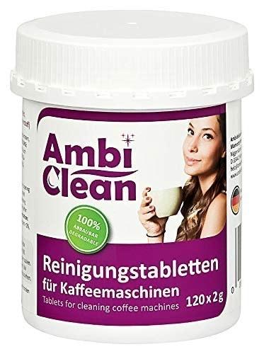 Pastillas para limpieza cafeteras de AmbiClean