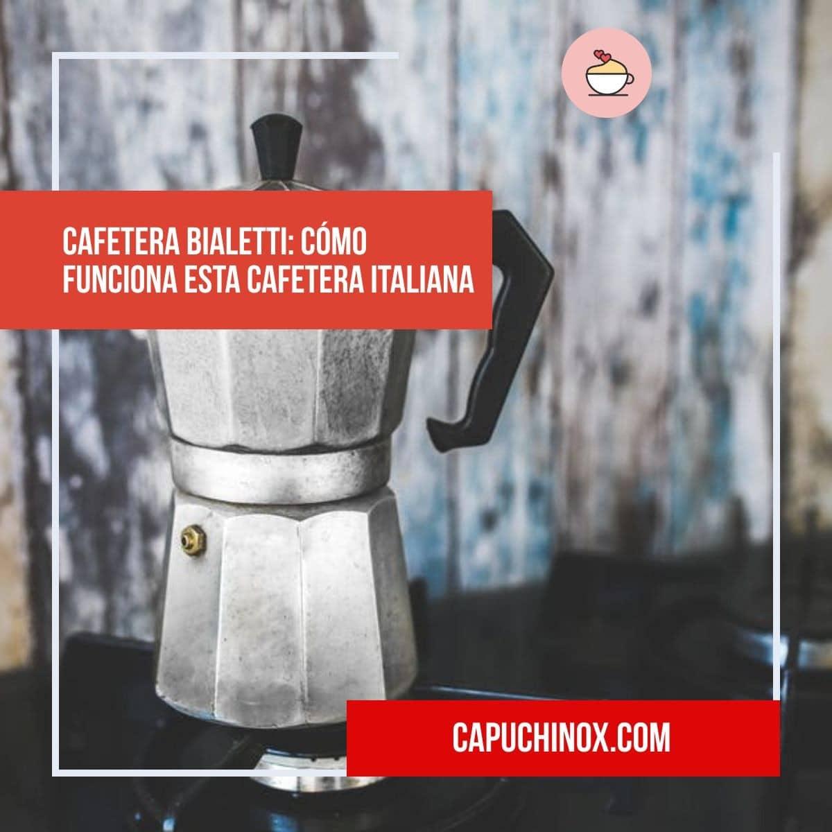 Cafetera Bialetti: cómo funciona esta cafetera italiana