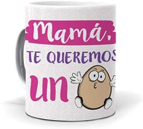 Taza Mamá, te Queremos un Huevo de mundoHuevo