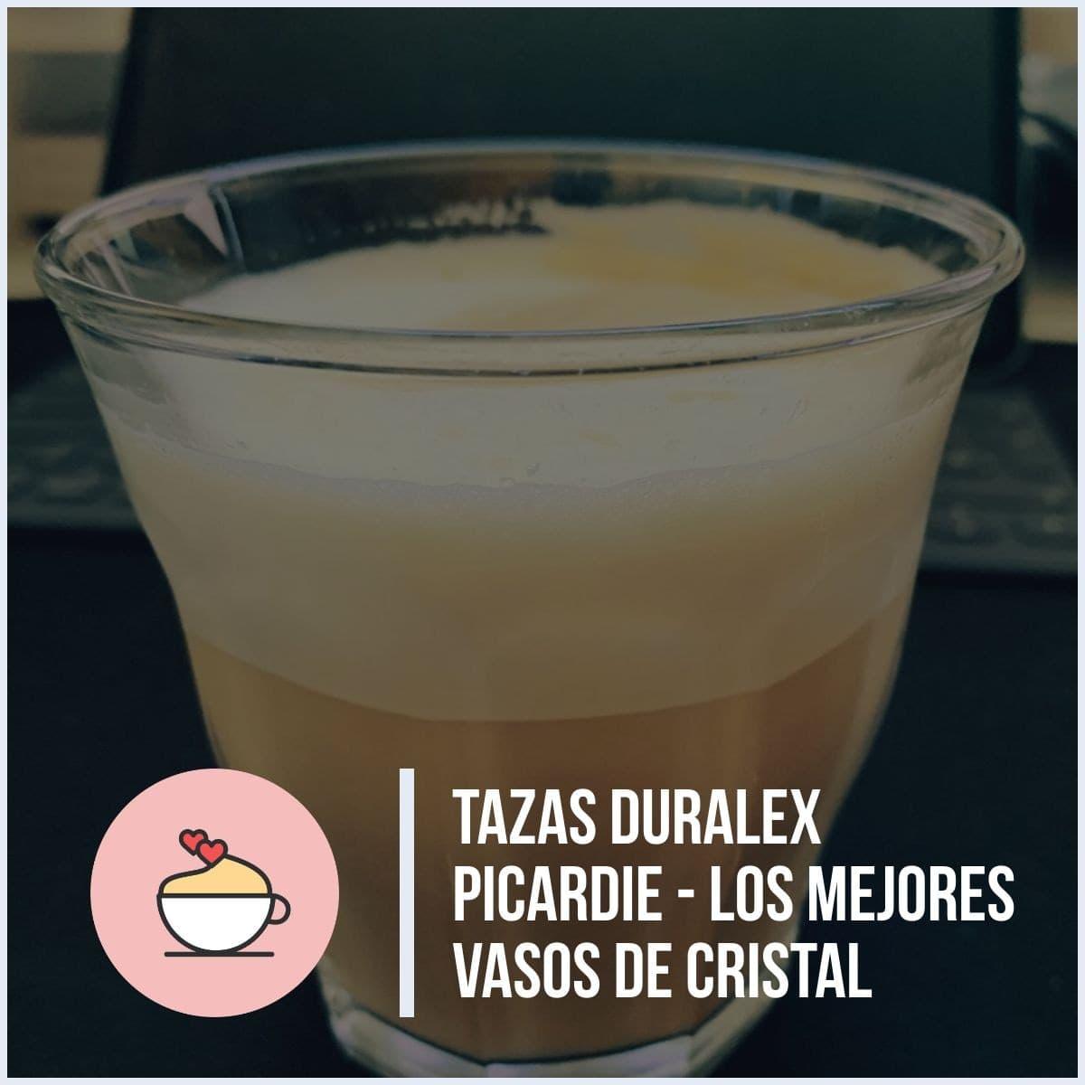 Tazas Duralex Picardie - Los mejores vasos de cristal para café espresso