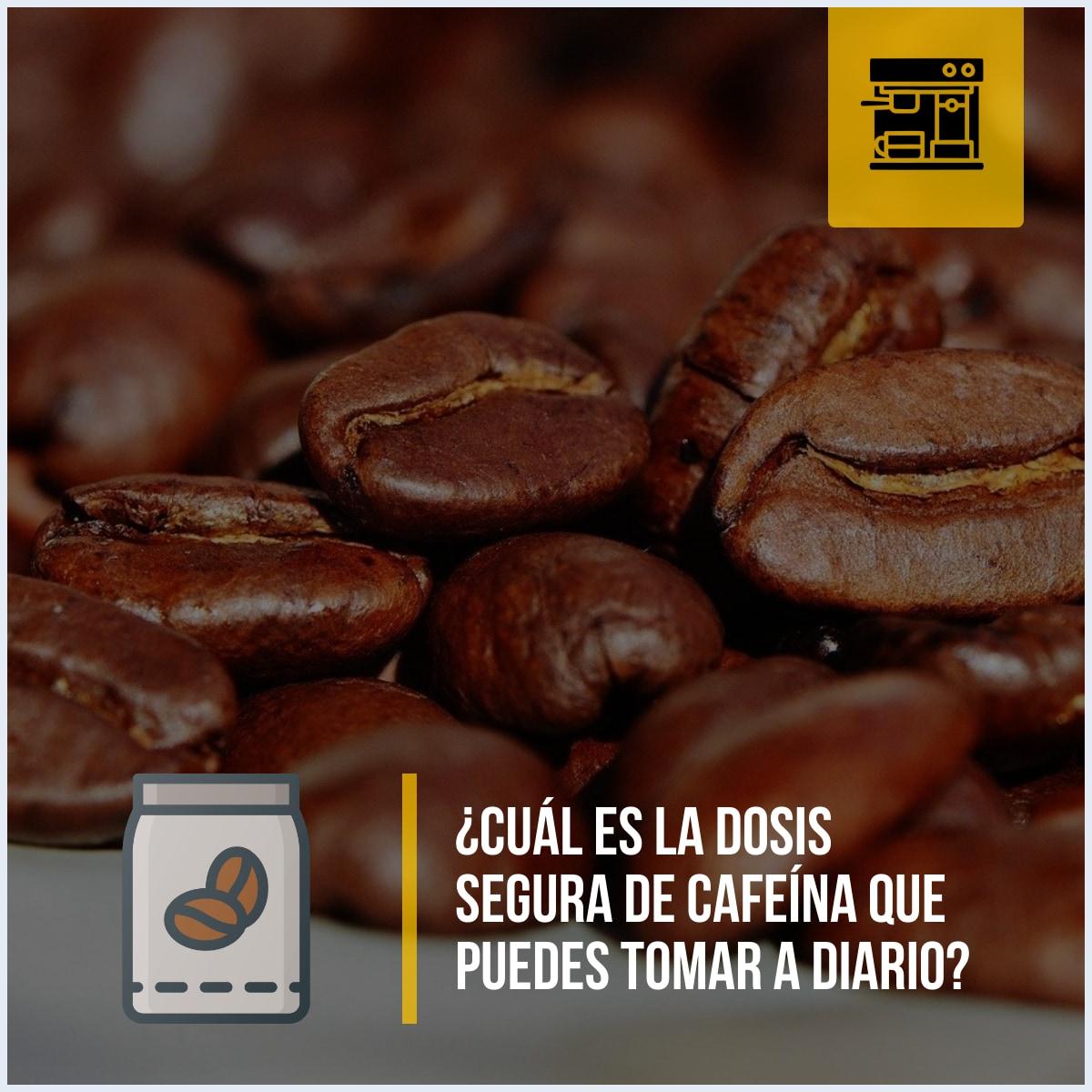 ¿Cuál es la dosis segura de cafeína que puedes tomar a diario?