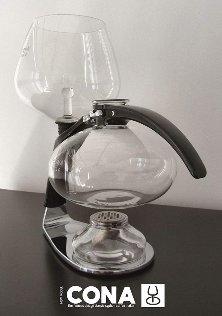 Cafetera CONA 'Size D-Genius All-Glass'