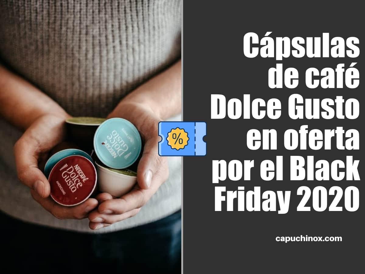 Cápsulas de café Dolce Gusto en oferta por el Black Friday 2020 en Amazon España