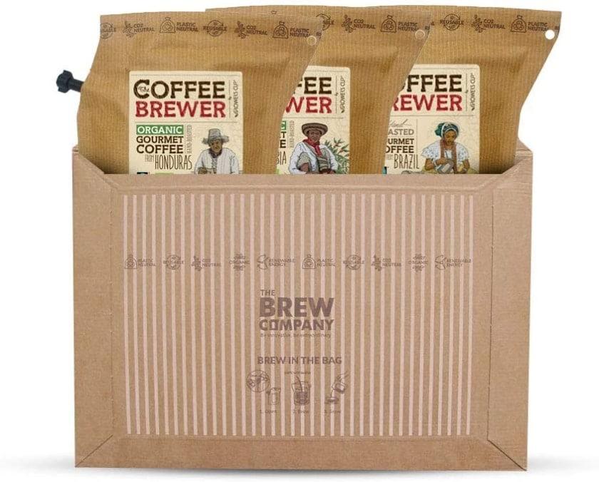 Surtido de cafés de regalo de Grower's Cup para llevar a cualquier lado