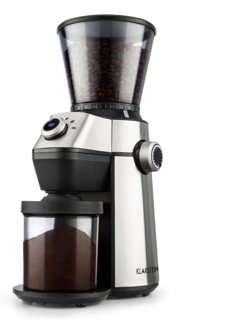 Klarstein Triest - Molinillo de café con muchos granos de molido