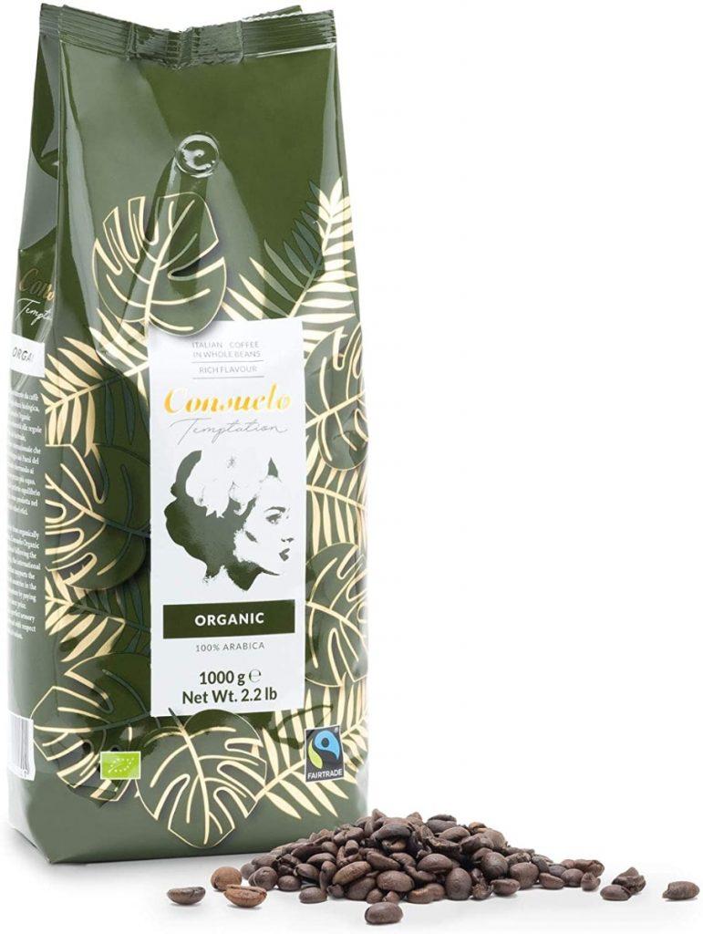 Café ecológico en grano Consuelo (comercio justo) - Paquete de 1 kg
