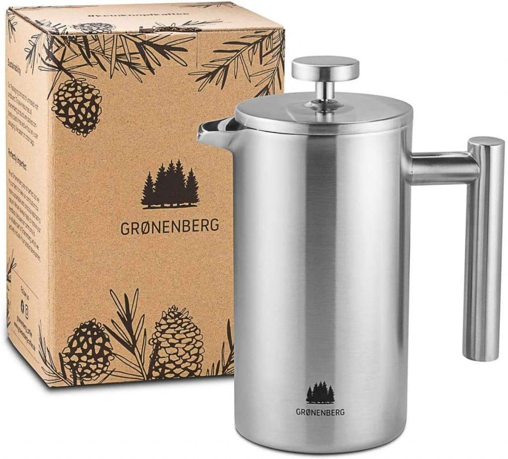Cafetera de prensa francesa Groenenberg de 600ml