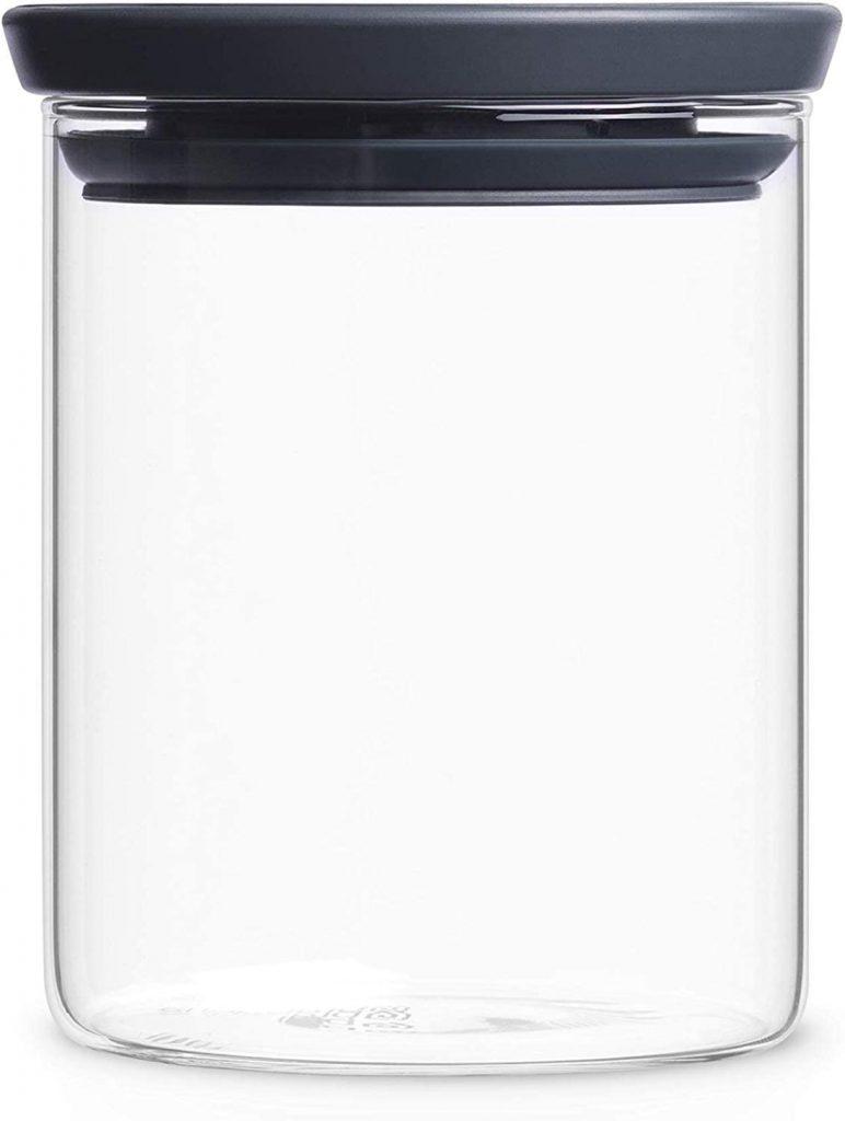Brabantia - Tarro de cristal de 0.6 litros